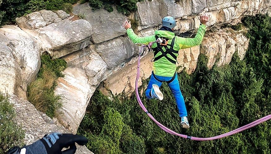 Rope Jumping en Barcelona: Sant Miquel del Fai