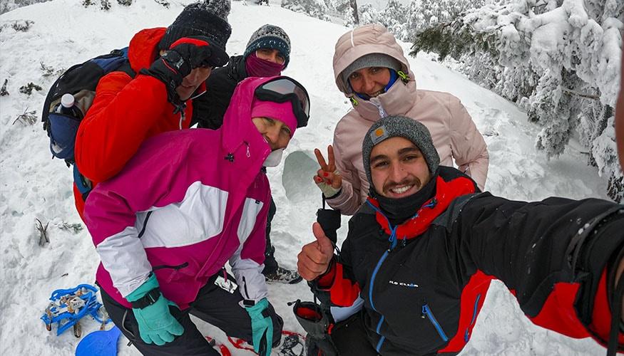 Raquetas de Nieve Madrid
