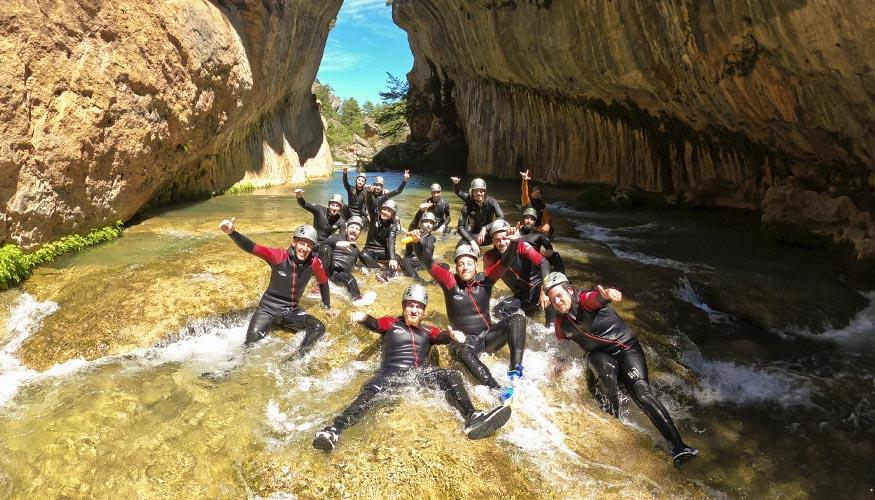 Barranco del río Júcar en Cuenca